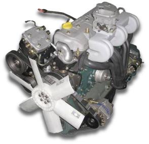 Motor EsiDT Diesel-Gas